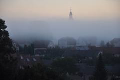 Kostel v mlze (T.Potměšil)