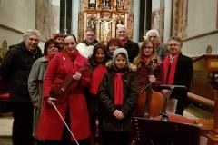 Z koncertu v Litschau 5.1.2019, s P. Kerschbaumem