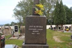 Hrob P.Jana Kubisky