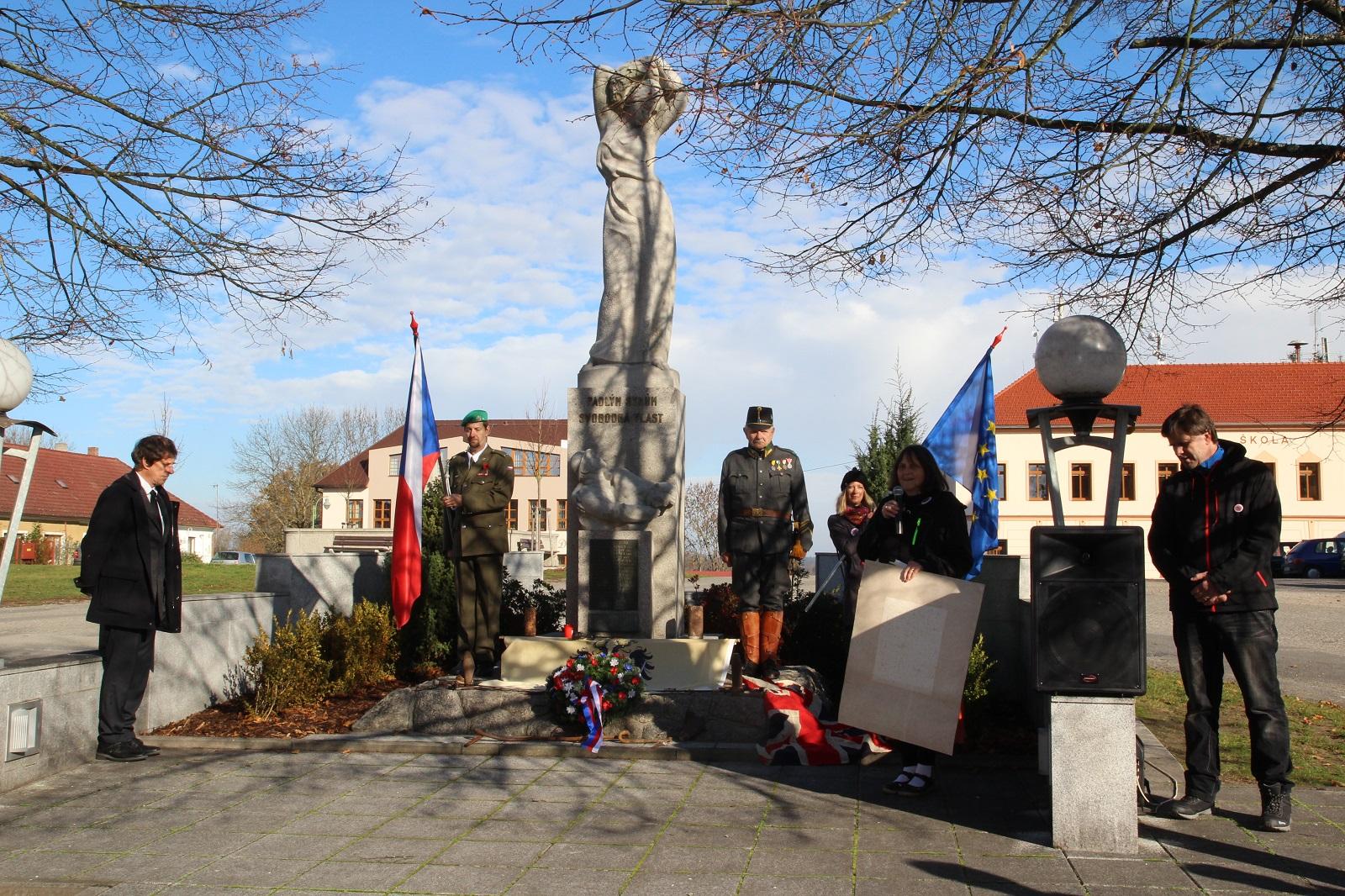 100. výročí od konce 1. sěvtové války 11.11.2018