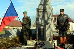 100. výročí od konce 1. světové války,pocta obětem u pomníku