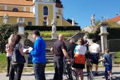 Velký pátek - křížové cesty se zúčastnili i cyklisté