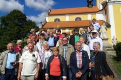 poutníci ze Zwettlu dne 13.9. 2019